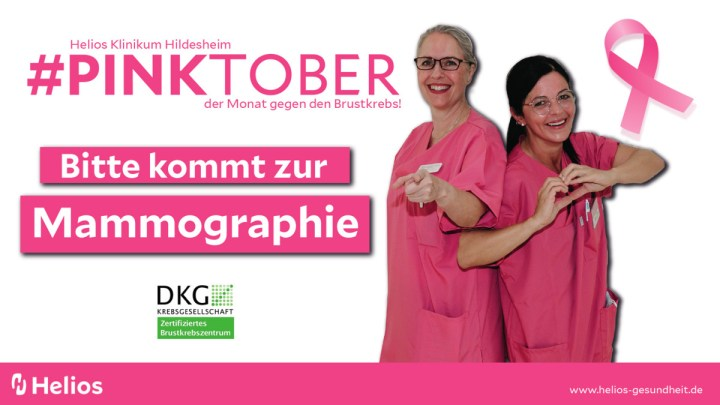 Pinktober: Helios macht auf Brustkrebs aufmerksam