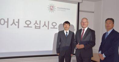 Südkoreaner in Göttingen: Vize-Generalkonsul informiert sich bei Polizeipräsident über Lebenssituation von Studierenden