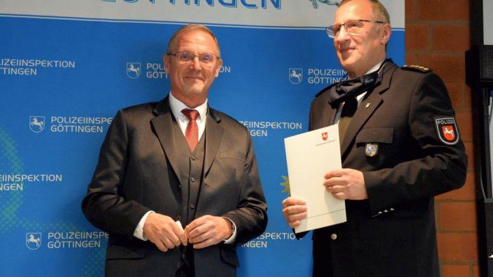 Wechsel in der Leitung der Polizeiinspektion Göttingen – Rainer Nolte folgt auf Thomas Rath