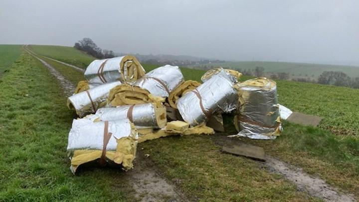 Illegale Müllentsorgung in Barfelde
