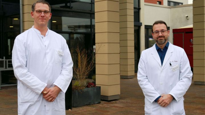Zwei neue Chefärzte am Helios Klinikum Hildesheim