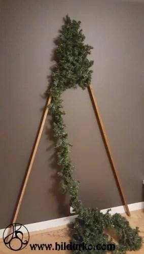 DIY Flat Christmas Tree  HildurKO