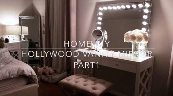 Home Diy Hollywood Vanity Mirror With Lights Under 70