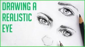 draw beginners easy realistic drawing eyes eye tutorial drawings faces bunnies brushes human paintingvalley