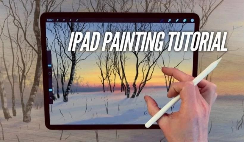 procreate art app using