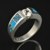 CS030 white sapphire turquoise and spiderweb turquoise 2