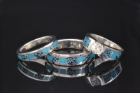 Our Favorite Turquoise Wedding Ring Set | Hileman Jewelry ...