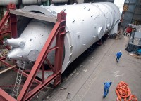 Production and transport of a cyclone separator for a