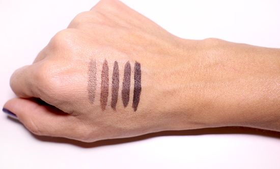 DipBrow Swatches