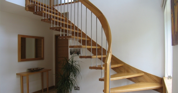 11 Most Interesting Staircase Design Ideas For Small Spaces | Creative Stairs For Small Spaces | Build In Storage | Compact | Interior | Round Shape | Wooden