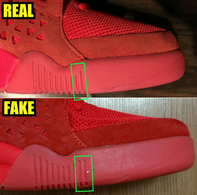 8dfbd593a9d nike air yeezy 2 red october how to spot fakes