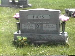 HICKS FLOYD TOMBSTONE