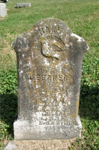 Mary Ellen Hicks Baker Tombstone
