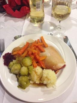 Christmas dinner at The Vine