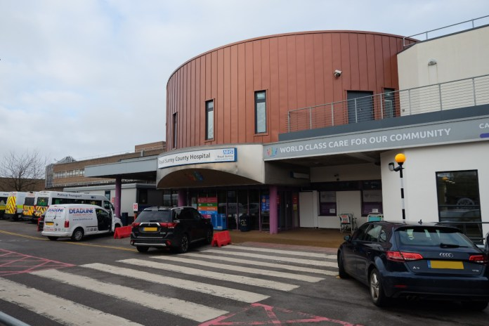 Surrey hospitals admissions increase by 140 percent