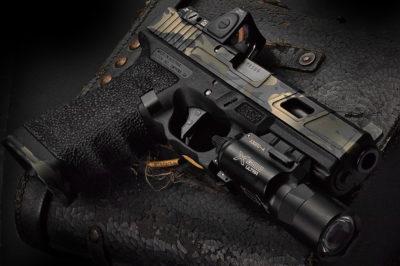 Glock 17 Wallpaper Hd Portfolio Custom Cerakote Finishes Hillbilly 223