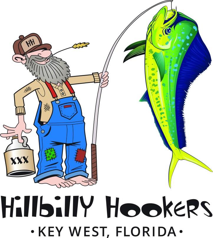 Hillbilly Hookers tshirt back art
