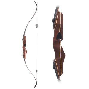 Handmade K2 three piece static recurve bow