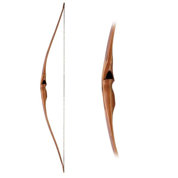Handmade Long bow with Leopard Wood