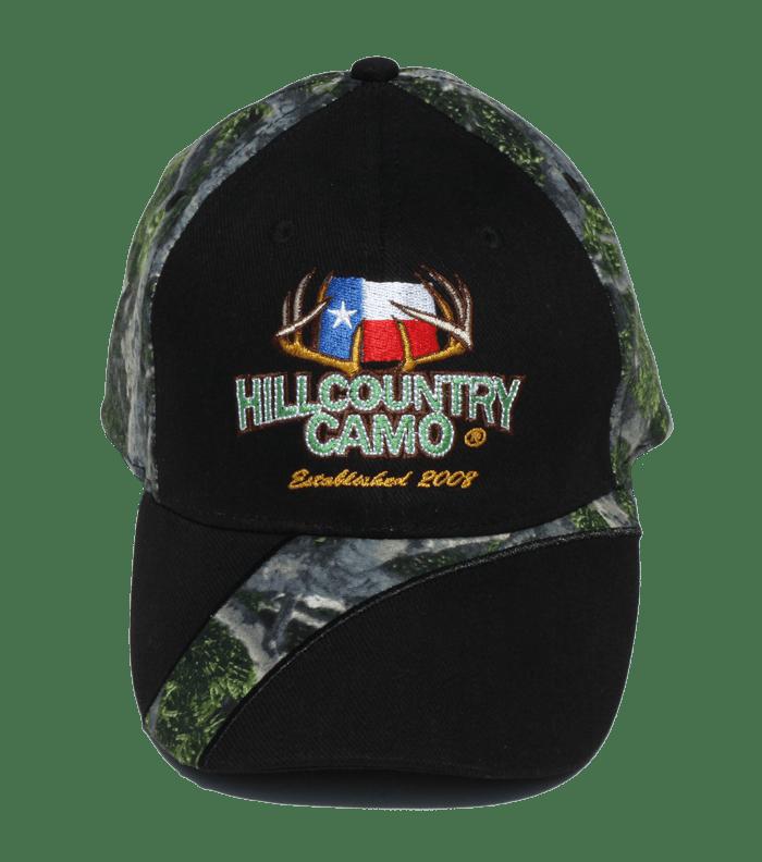 Upland Series Ball Cap (Black) – Hill Country Camo e25a9baceb3