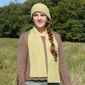Hills are Alive Scarf and Hat