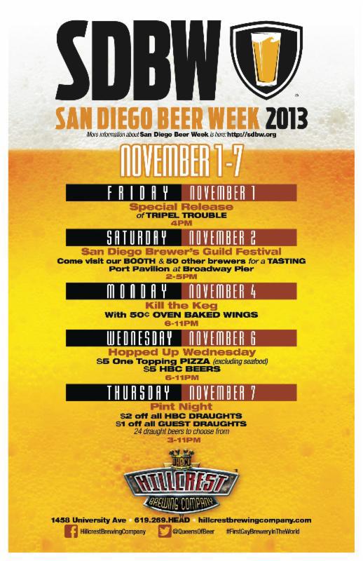 San Diego Beer Week Hillcrest