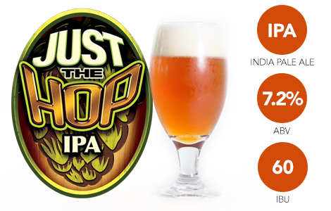 Just the Hop IPA Hillcrest Beer