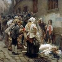La mort de princesse de Lamballe