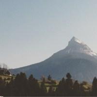 Ett vackert berg i Chartreuse-massivet