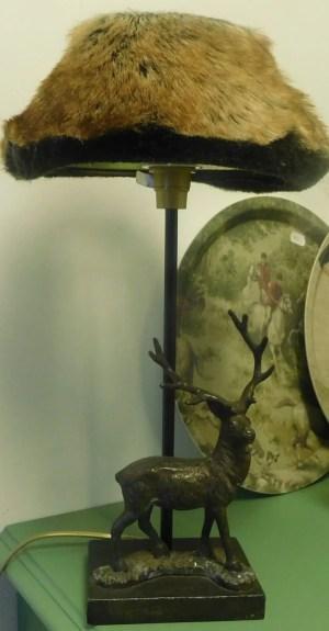 Lampa med hjort