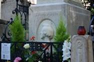 Pere Lachaise cemetery - Chopin's grave