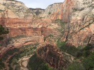 View of Big Bend from Angels Landing