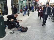 On Grafton Street, Dublin