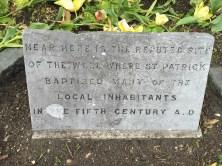 St. Patrick marker
