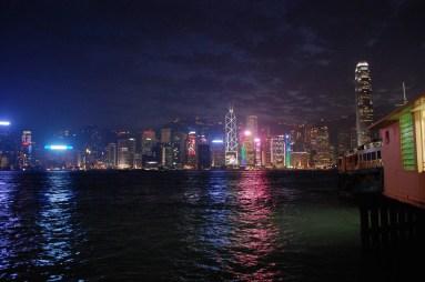 Night view from Tsim Sha Tsui