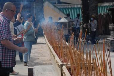 Incense at Wong Tai Sin Temple