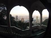 View from Victoria Peak tram