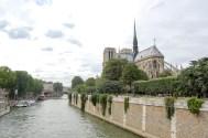 Notre Dame de Paris from across the Seine