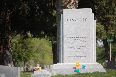 Gordon B. and Marjorie Pay Hinckley memorial