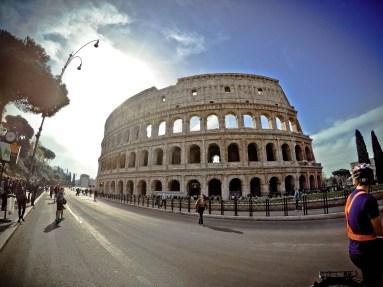 Flavian Amphitheatre in Rome, Italy