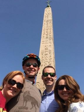Obelisk at Piazza del Popolo
