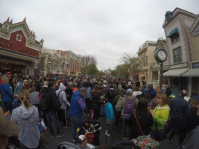 The line to get in