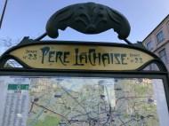 Pere Lachaise metro stop