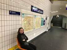 Pere Lachaise - our metro stop