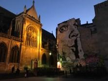 Near Pompidou - assume that's Salvador Dali?