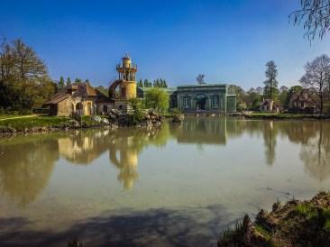 Versailles - Marie Antoinette peasant village pond