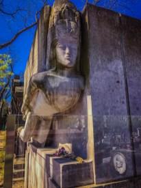 Oscar Wilde's tomb - Pere Lachaise