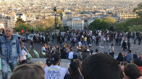 The steps of Sacre Caoeur