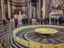 Foucault's Pendulum - The Pantheon