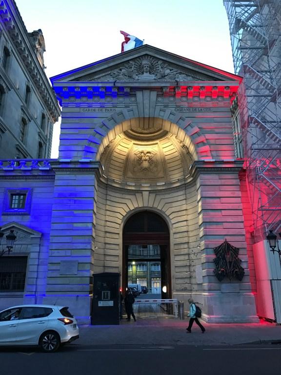 Garde de Paris, red, white, and blue
